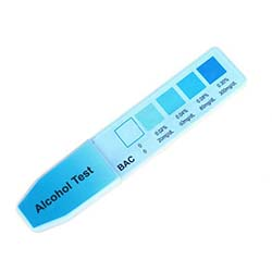 Urine Alcohol Test Dip Card